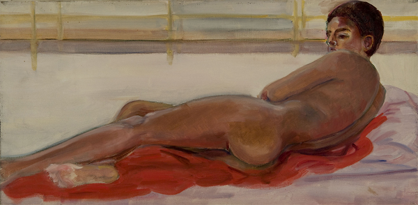 Demonstration Nude at the New School, 1976 - 1980, Oil on Canvas, Sylvia Sleigh