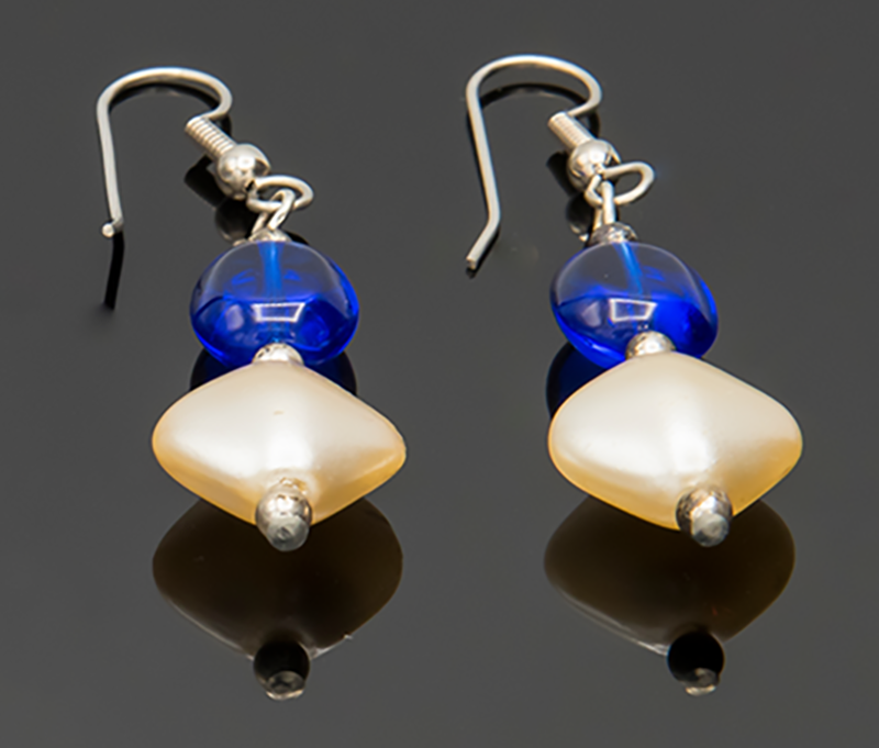 MICIA Creations Faux Pearl Drop Earrings #108 ($25 Value, Buy now $18)