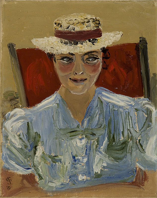 Elizabeth Stobart, 1941, Oil on Canvas, Sylvia Sleigh