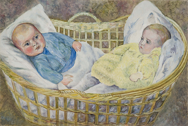 Max and Suzi Irving, 1960, Oil on Canvas, Sylvia Sleigh