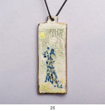 Handmade Brooches and Necklaces by Karen Fall