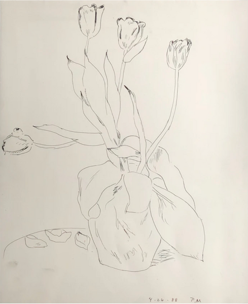 Vase of Tulips by Paul McDonough