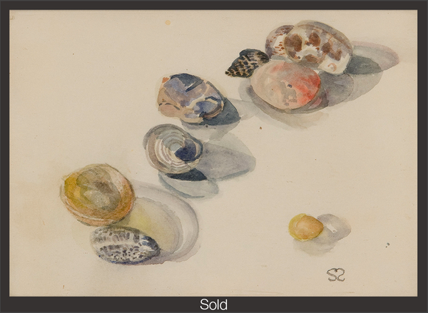 Stones and Shells from Southold, Sylvia Sleigh