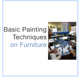Isabel O'Neil Studio: Basic Painting Techniques on Furniture