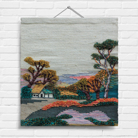 Autumn View Tapestry Wall Hanging (1456)