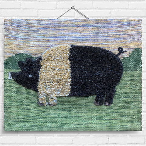 Pig Tapestry Wall Hanging (7044)