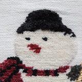 Snowman (White) Tapestry Wall Hanging (7160)