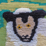 Sheep & Castle Tapestry Wall Hanging (7323)