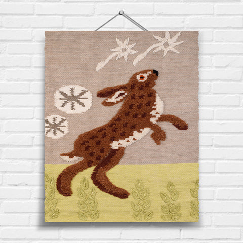 Hare Tapestry Wall Hanging (8001)