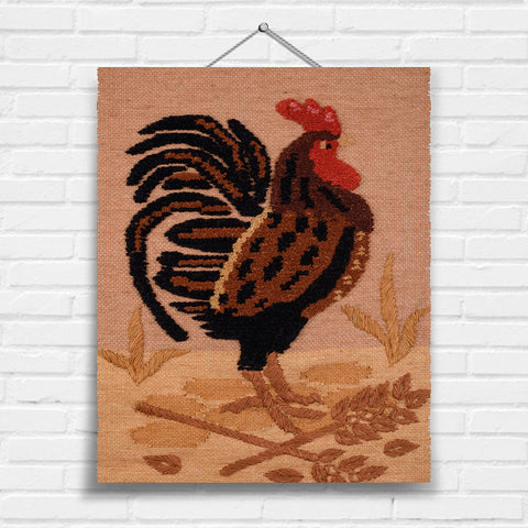 Rooster Tapestry Wall Hanging (8002)