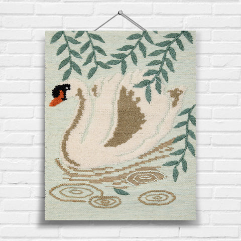 Swan Tapestry Wall Hanging (8003)