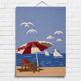 Deck Chair Tapestry Wall Hanging (8005)