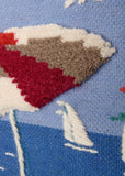 Deck Chair Tapestry Wall Hanging (8005) Close-up