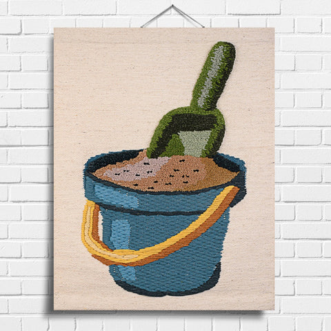 Bucket & Spade Tapestry Wall Hanging (8006)