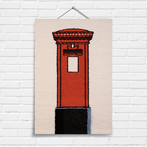 Post Box Tapestry Wall Hanging (8011)