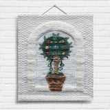 Topiary Tapestry Wall Hanging (9095)