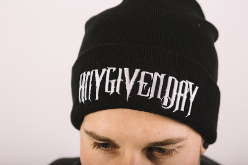Any Given Day Logo - Beanie
