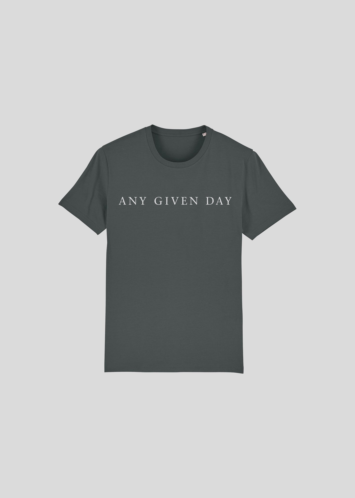 ANY GIVEN DAY - T-SHIRT (Anthracite)