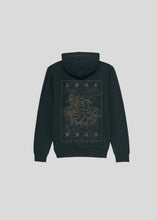 Laden Sie das Bild in den Galerie-Viewer, LONEWOLF - HOODIE (BLACK)