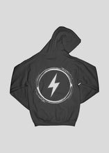 Laden Sie das Bild in den Galerie-Viewer, OVERPOWER - HOODIE (BLACK)