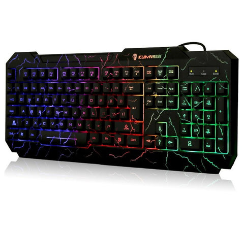 Backlight Wired LED Backlit Gaming Keyboard Computer