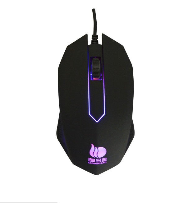 Wired 1000DPI Optical Gamer Gaming Mouse Mice