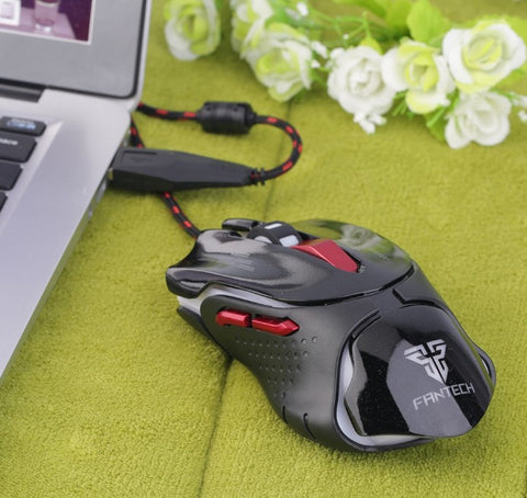 Optical 6 Buttons Scroll Wheel Colorful Mouse