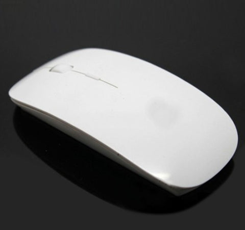 2.4 GHz Wireless White Gaming Mouse USB Optical