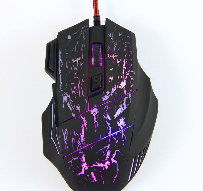 LED Optical USB Wired Mouse Gamer Mice