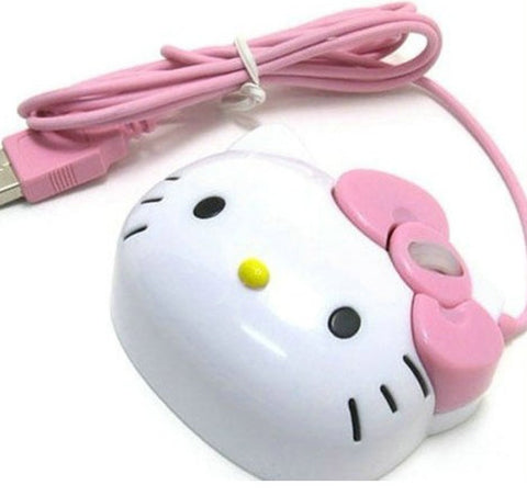 Dropship 3D Hello Kitty Wired Mouse