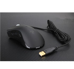 Deathadder 3500DPI Gaming USB Mouse Blue
