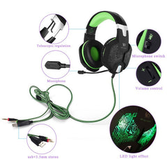 Gaming Headphone Stereo Surround Over Ear Headset