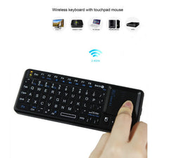 2.4G Wireless Keyboard Touchpad Mouse Gaming
