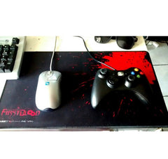 Professional Custom Crazy Gaming Mouse Pad A Blood