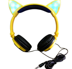 Cat Ear  Headset - Glowing Ears