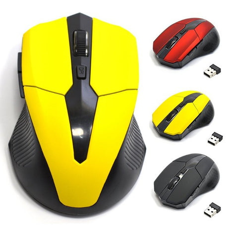 Optical Wireless Gaming Mice
