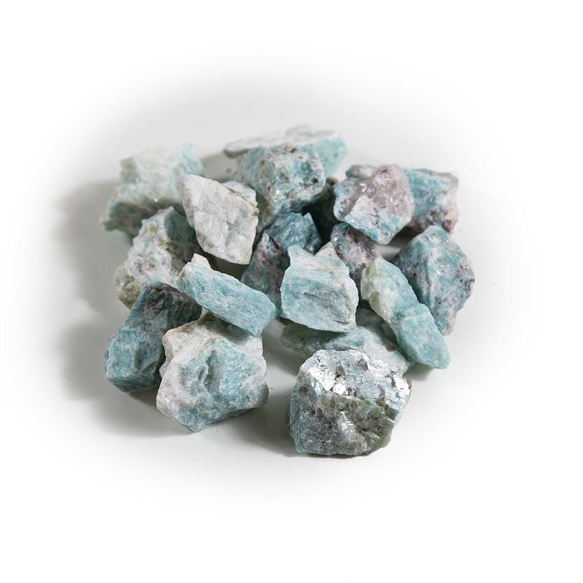 Amazonite Chunks - 1 lb Bag - Raw Chunks Rough Stone (OB17-1)