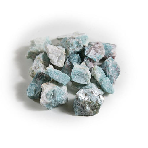 Amazonite Chunks - 1 lb Bag - Raw Chunks Rough Stone (TS-160)