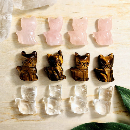 Cat Gemstones - Kitty Shape Cabochon (RK109B24)