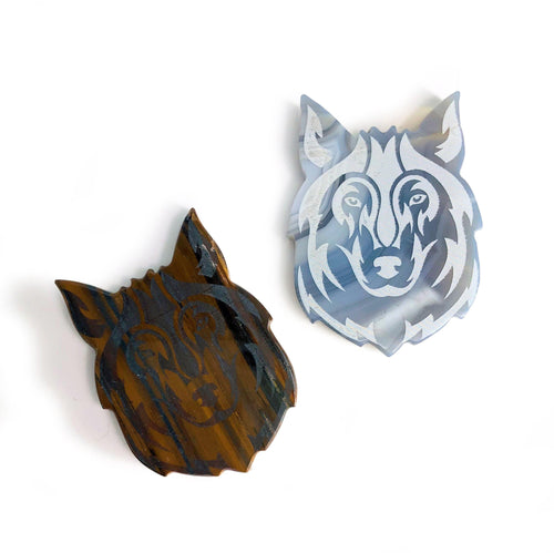 Gemstone Wolf Slices (RK3001B2)