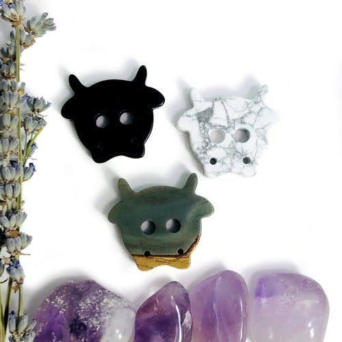 Gemstone Cow Cabochons (RK3001B3)