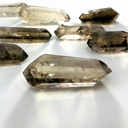 Smokey Quartz Polished Double Points - By Weight (RK3020)
