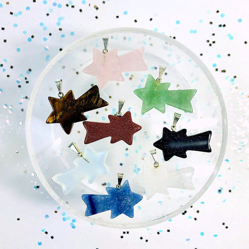 Shooting Star Stone Pendants (RK3002B3)