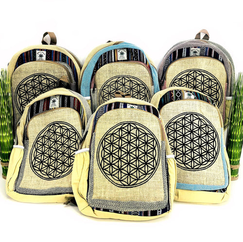 Flower of Life Himalayan Back Packs