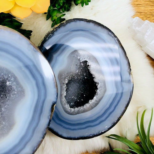 Agate Geode Box - Large Polished (WRHS2-S11-56)