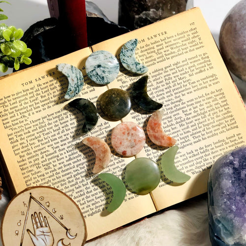 Gemstone Moon Phase Stones (RK148)