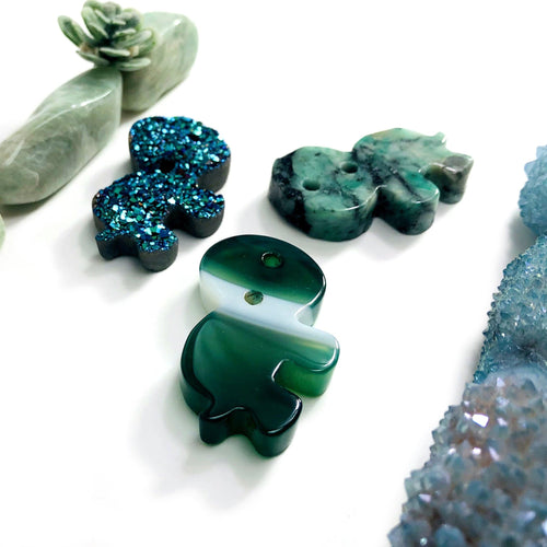 Turtle Gemstone Cabochons - Large and Small (RK110)