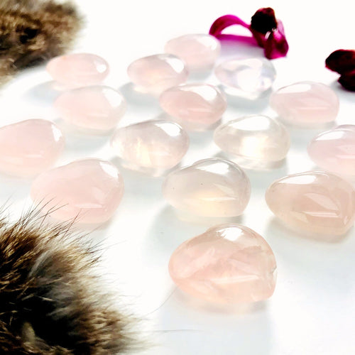 Rose Quartz Extra Quality Heart (RK704B11)