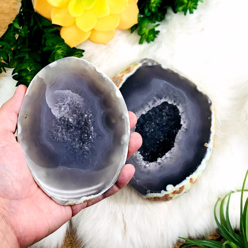 Agate Geode Box - Polished (WRHS2-S11-59)