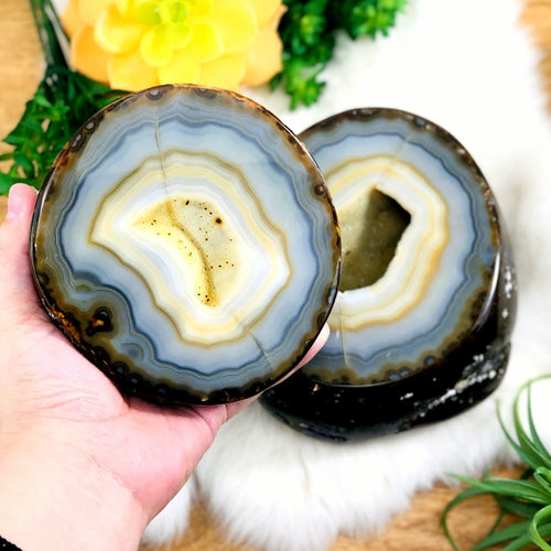 Agate Geode Box - Polished (WRHS2-S12-41)